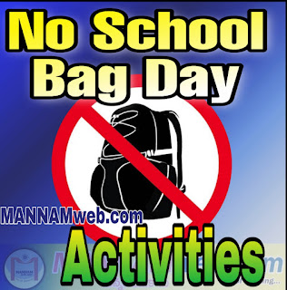 No School Bag Day in AP Schools - Srujana Saturday Time Table for Primary Schools, No bag day ,no school bag day ,No bag day activities , No school bag day activities,No bay school day programmes in AP Schools, Srujana programmes ,నో బ్యాగ్ డే ,నో బాగ్ డే ,నో స్కూల్ బ్యాగ్ డే ,నో స్కూల్ బాగ్ డే