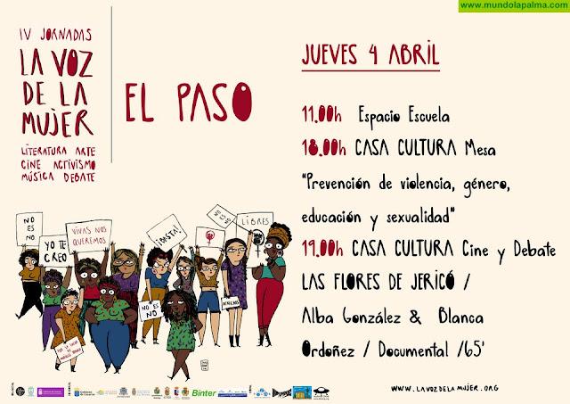"""IV jornadas """"La Voz de La Mujer"""" Literatura Arte Cine Activismo Música Debate"""