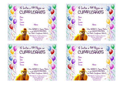 Vladimir Klimsa, Invitación para cumpleaños