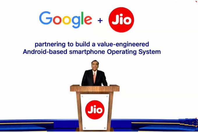 jio and google launch 5g in India