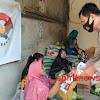 Aksi Simpatik Cegah Covid-19, Bhabinkamtibmas Desa Bentang Dan Desa Kalebentang Bagi Masker Kewarga
