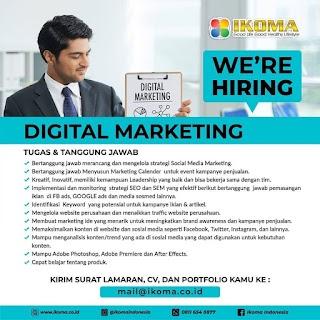Digital Marketing di PT Prisma Mas Semesta