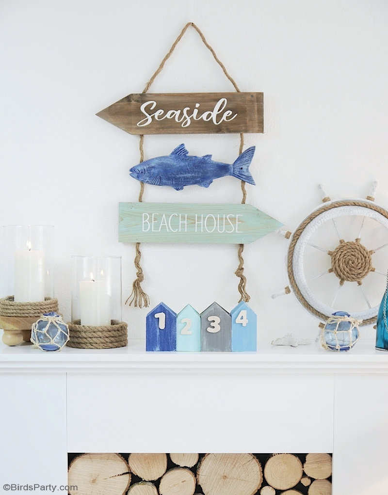 DIY Nautical Coastal Decor