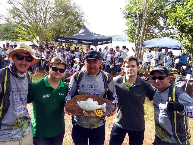 Roncadorenses conquistam 3º lugar em campeonato de pesca