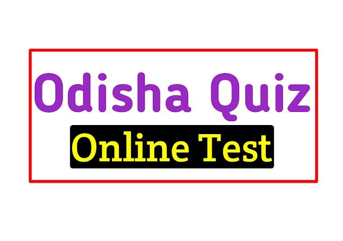 Odisha GK Online Questions Mock Test