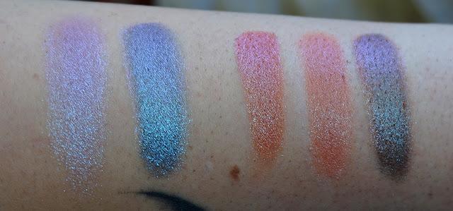 Swatches Palette Element of Surprise Colourpop