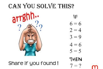Pecahkan Teka-Teki Matematika Ini Jika Kamu Jenius #1