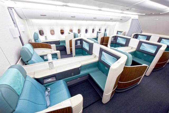 الخطوط الجوية الكورية - نيويورك إلى بكين