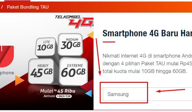 Trik Kuota Internet Gratis Telkomsel Dengan Program Paket TAU 2019
