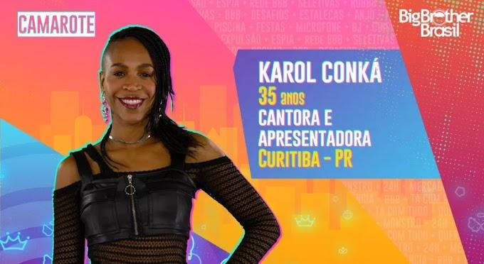 Karol Conká pede para fãs votarem para eliminá-la do BBB21