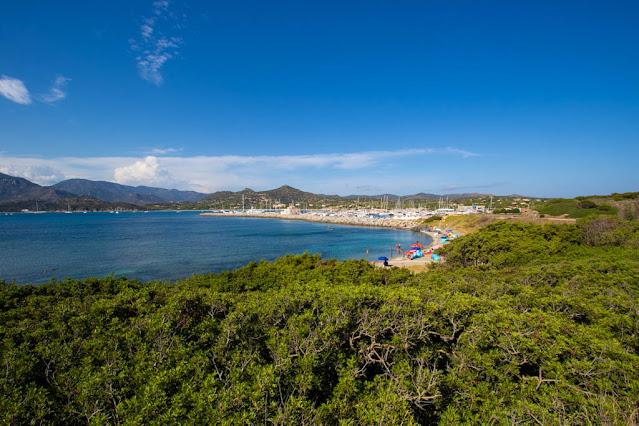 Fortezza e spiaggia della Fortezza-Marina di Villasimius