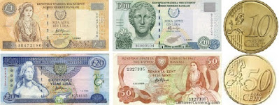 Countries and Currency Cyprus