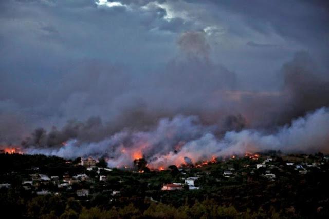 «Είχαν μπροστά τους τη φωτιά και πίσω τον γκρεμό… Αγκαλιάστηκαν όλοι μαζί και κάηκαν ζωντανοί»!