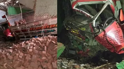 Mobil Truk Tabrak Madrasah di Garut, Dua Orang Tewas