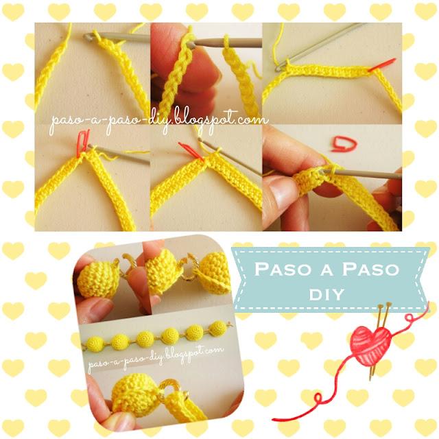 Cómo hacer un collar tejido