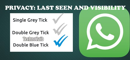 Under settings and then account you will find the privacy settings of WhatsApp.