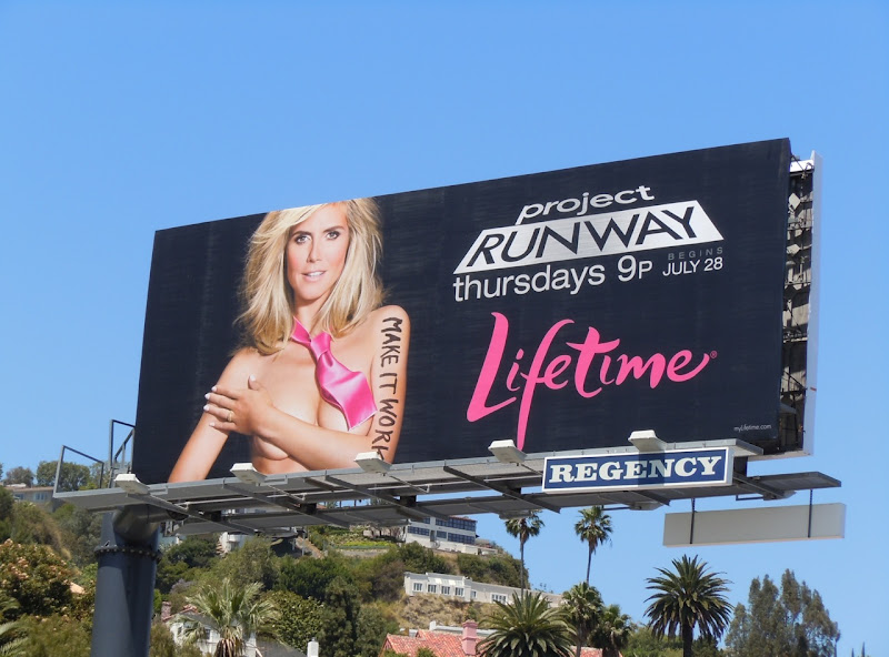 Project Runway season 9 billboard
