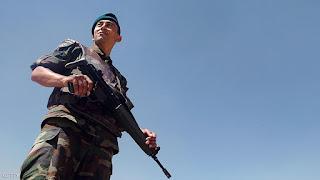 مقتل جندي تركي بمنطقة هاتاي علي الحدود التركية السورية