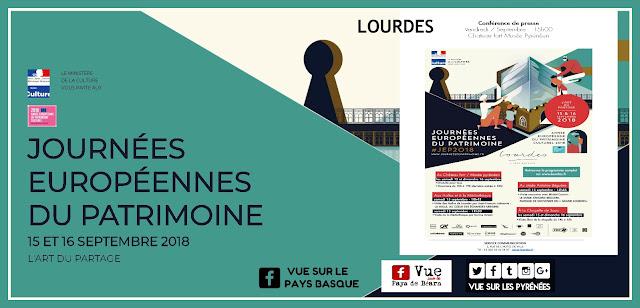 Les Journées Européennes du Patrimoine Lourdes 2018