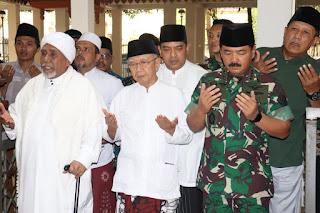 Panglima TNI Silaturrahmi Dengan Ulama Jawa Timur di Tebu Ireng