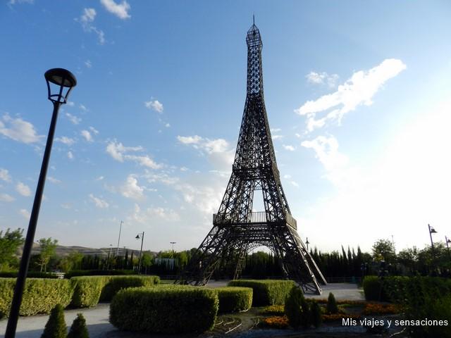 Torre Eiffel, Parque Europa, Torrejón de Ardoz (Madrid)