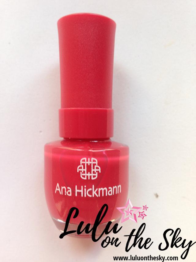 Esmalte Ana Hickmann Curacao Blue  Pink Tropical