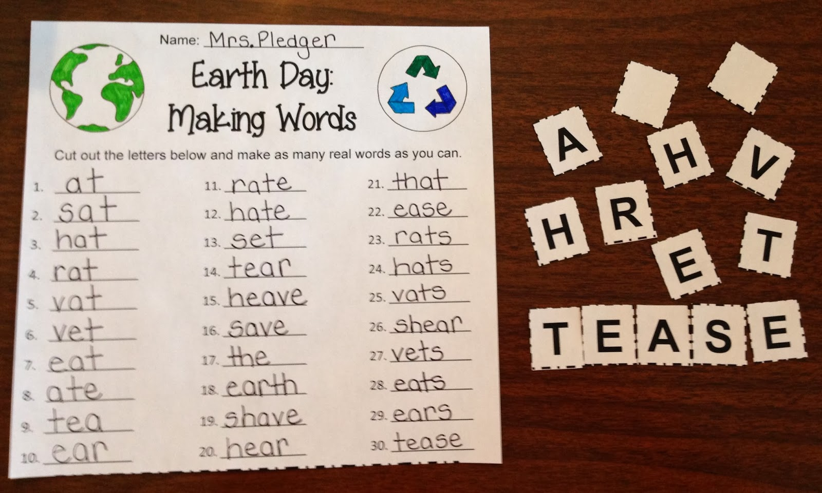 Making Words Amp Word Work