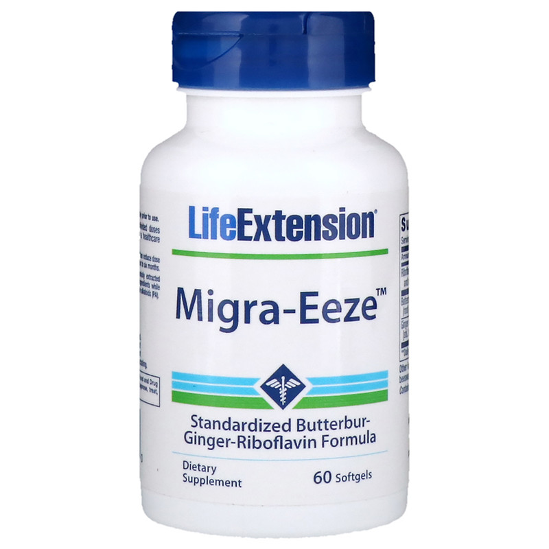 Life Extension, Migra-Eeze, 60 гелевых капсул