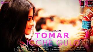 Tomar Icche Gulo Lyrics ( তোমার ইচ্ছেগুলো ) | Kona, Akash Sen, Tasnuva Tisha