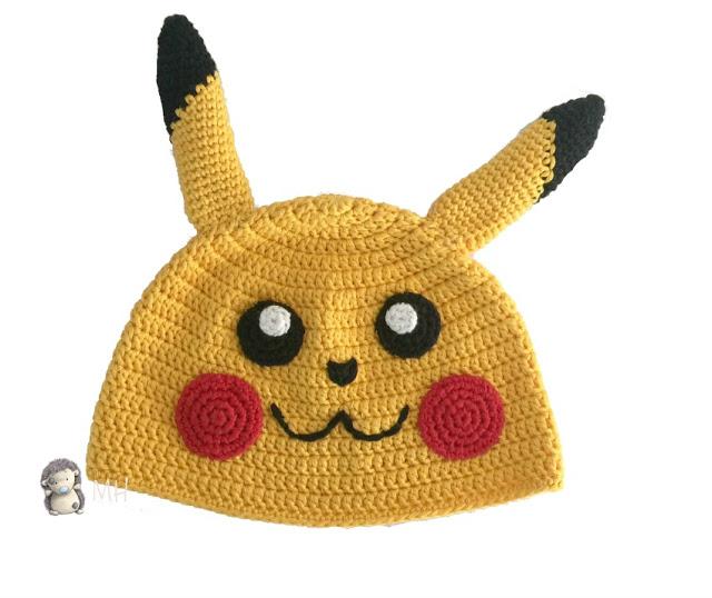 2000 Free Amigurumi Patterns: Pikachu Hat