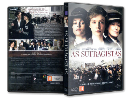 Capa DVD As Sufragistas