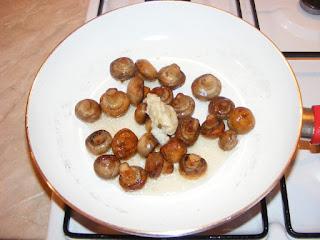 retete ciuperci sote cu usturoi la tigaie mod preparare,
