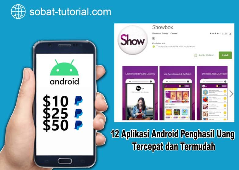 12 Aplikasi Android Penghasil Uang Tercepat dan Termudah