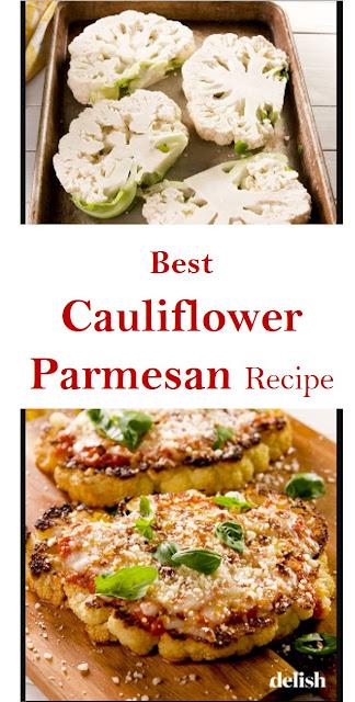 Best Cauliflower Parmesan Recipe #CauliflowerParmesan #Best #Cauliflower #Parmesan #Recipe