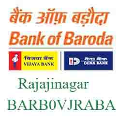 Vijaya Baroda Bank Rajajinagar Branch New IFSC, MICR