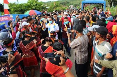 Bangga Dengan Kinerja Bupati dan Wakil Bupati Tapteng, Masyarakat Pinangsori Sampaikan Dukungan Lanjut Dua Periode