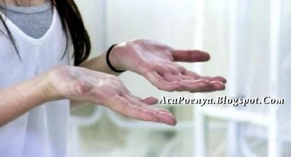 Telapak Tangan Keringat