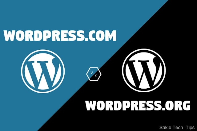 WordPress.com vs WordPress.org – Difference?