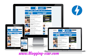Free AMP Blogger Template download