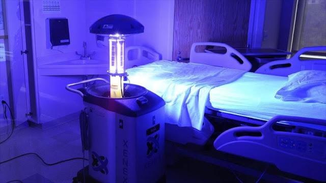 Estudio revela que rayos ultravioleta debilitan la COVID-19