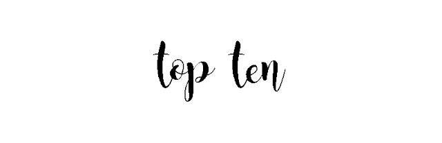 Top ten: Libros para san valentin