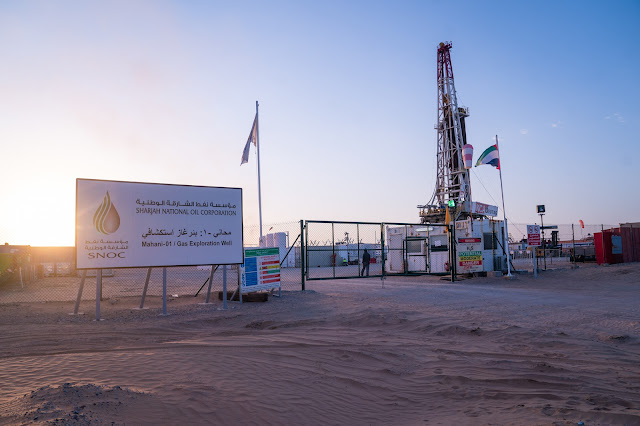 Image Attribute: SNOC's Mahani-01 Gas Exploration Well / Source: SNOC