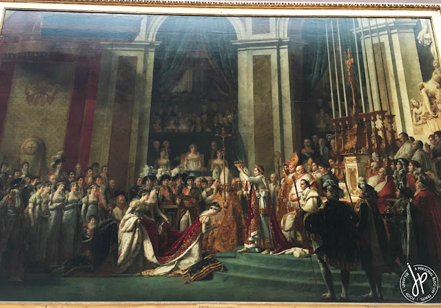 painting of a monarch coronation