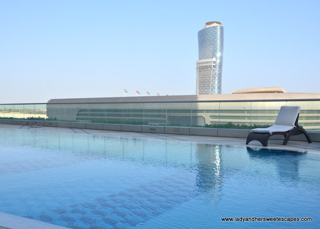 pool at Capital Centre Arjaan by Rotana