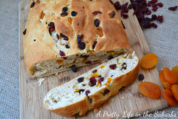 Fruit and Berry Christmas Bread