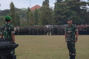 Kasdam IX/Udayana Pimpin Apel Gelar Pasukan Pengamanan VVIP Kunker Presiden RI di Bali