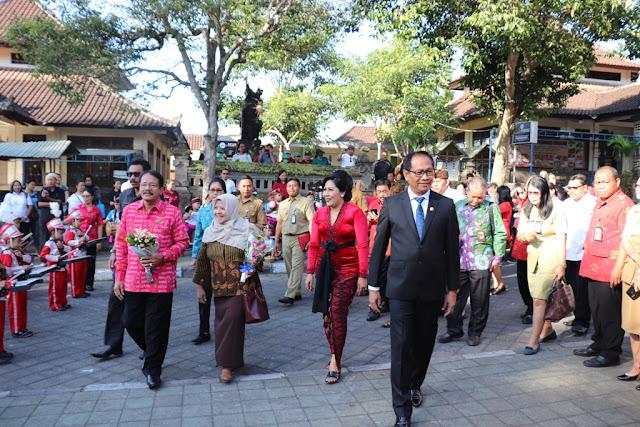 Perpustakaan Desa Mengwi, Badung, Bali : Ramah Lingkungan