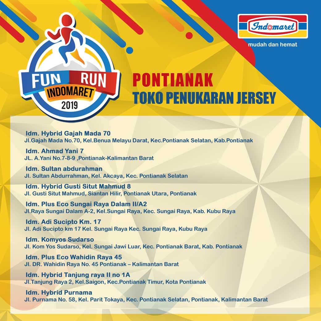 Toko Fun Run Indomaret - Pontianak • 2019