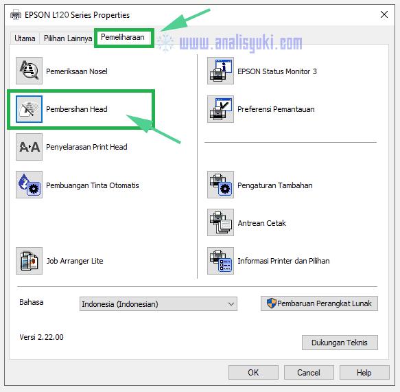 Cara Cleaning Printer Epson L120 dengan Mudah