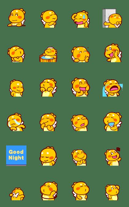 QooBee Agapi ~ ANIMATED Sticker